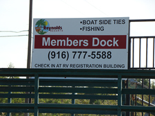 members only fishing dock